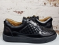 Preview: LEANDRO LOPES SNEAKER  LOW TOP Faisca black