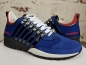 Preview: DSQUARED2 251 Lace-Up Low Top Sneakers blu royal+rosso
