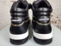 Preview: LEANDRO LOPES MID TOP TURBO Sneaker, Black Patent