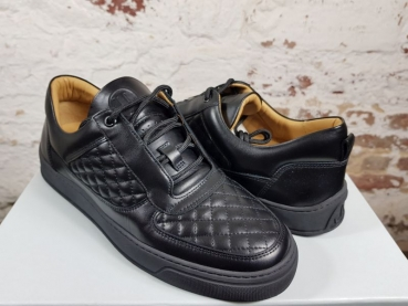 LEANDRO LOPES SNEAKER  LOW TOP Faisca black