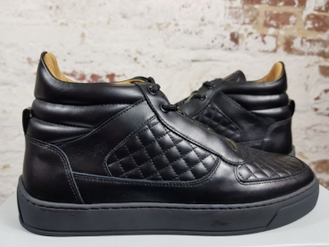 LEANDRO LOPES SNEAKER  MID TOP Faisca black
