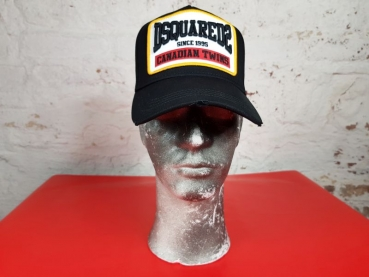 DSQUARED2 Baseball Cap Other Cargo, nero