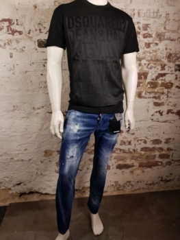 DSQUARED2 T-Shirt Caten Brothers black