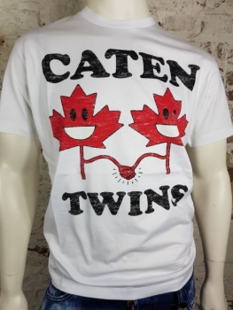 DSQUARED2 T-Shirt Caten Twins white